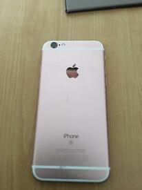iphone 6s 16gb rose gold!!!