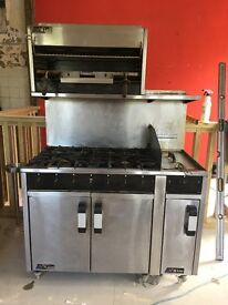 M Line Commercial Catering Cooker - with grill and fryer