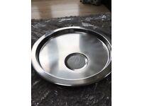 Stainless steel round sink drainer