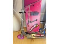 Brand new girls scooter pink age 5+ ideal xmas present