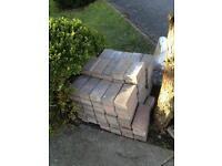 Paving blocks left over