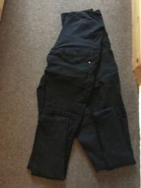 Dorothy Perkins over bump maternity jeans