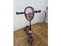 Spider Man Childerens/Kids Scooter/Trike - £5