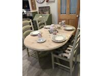 Ducal Pine Dining Table and 4 Chairs NOW SOLD