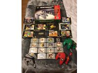 N64 console, games and accessories