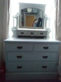 Beautiful Vanity Table / Chest of Drawers for sale
