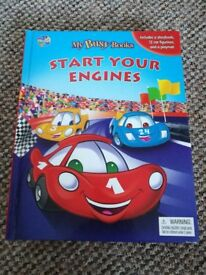 'Start Your Engines' - Play along book