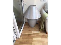 Brand new large grey Dori lamp