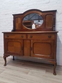Mirror Back Sideboard (DELIVERY AVAILABLE FOR THIS ITEM OF FURNITURE)