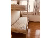 BUNK BED WITH TWO QUALITY MATTRESS