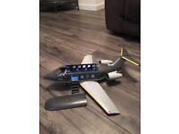 Playmobil plane with x2 pilots