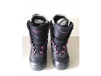 Ladies Northwave Snow Board Boots.