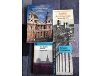 4 Architecture books