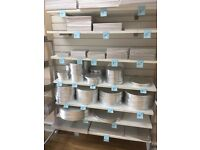 Shop shelving heavy duty slat bracket