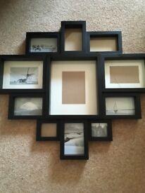 Black photo frame various sizes