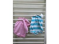 2 Ralph Lauren baby girl short sleeve one piece