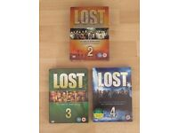 Lost boxed sets (series 2,3 and 4) - £4 each or all 3 for £10