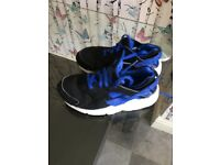 Boys blue /white trainers