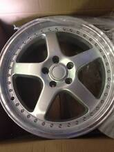 """20"""" x 8.5 BRAND NEW F40 STORM WHEELS & NEW TYRES - SUIT FALCON Woy Woy Gosford Area Preview"""