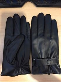 Men's Winter Outdoor Gloves, Touchscreen, Waterproof, Windproof - ONE SIZE FITS ALL