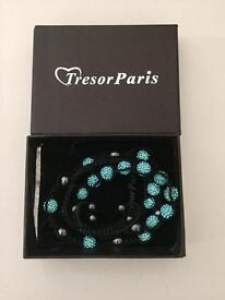 Tresor Paris bracelet & necklace set
