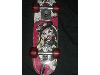'SMALL' BRATZ 'ROCK ANGELZ' Skateboard.