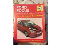 Ford Focus mk1 Haynes Manual