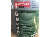 Johnstones wood primer 2.5litre tin - new! RRP £30