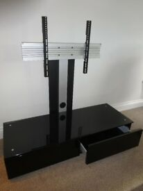 Modern TV stand complete with brackets