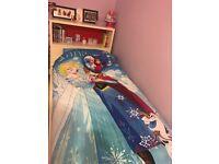 *** Ikea Bed, headboard & hideaway bookcase