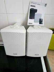 Wall mountable speakers in good condition still in original packaging