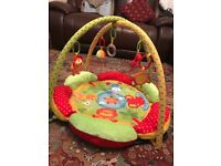 Baby Gym / Mothercare Safari Baby Playmat / From Birth
