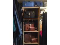 Ikea malm bedroom set , two tall sets drawers , 3 section wardrobe, 2 door wardrobe, great package