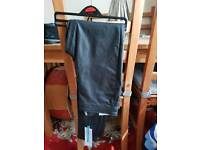 Bnwt leather look bottoms