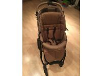 Bebecar push chair with matching car seat immaculate condition
