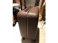 Louis Vuitton LV travel luggage roller bag