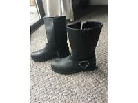 Harley Davidson Leather Boots - size 12