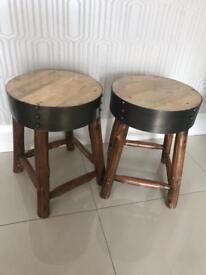 Rustic stool