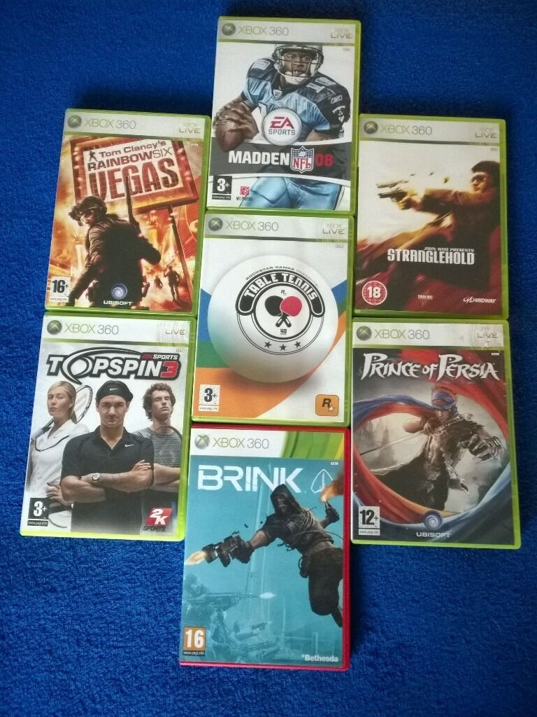 XBOX 360 - 7 GAMES for £5