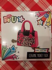 Craft project moneybox paint new unopened