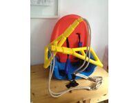 Good condition multicoloured childs plastic swing