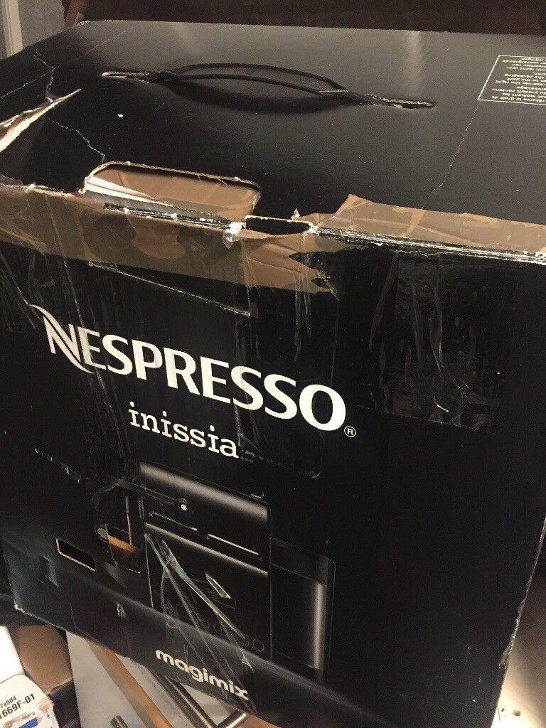 Nespresso coffee machine Inissia magimax