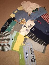 Baby boy 6-9 months bundle clothes
