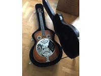 Ozark Resonator Acoustic Guitar with hard case
