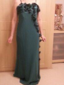 Elegant ladies' evening gown - size 12