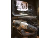 wall chaser:Titan 1700W 240V.Cutting Width: 8-30mm Cutting Depth: 0-40mm