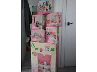 ELC Dolls House with Loads of accessories - Brand New