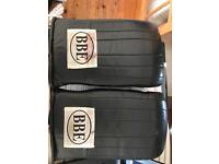 Boxing pads and gloves