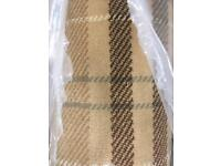 Brand new tartan rug
