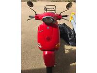 Red Vespa for sale